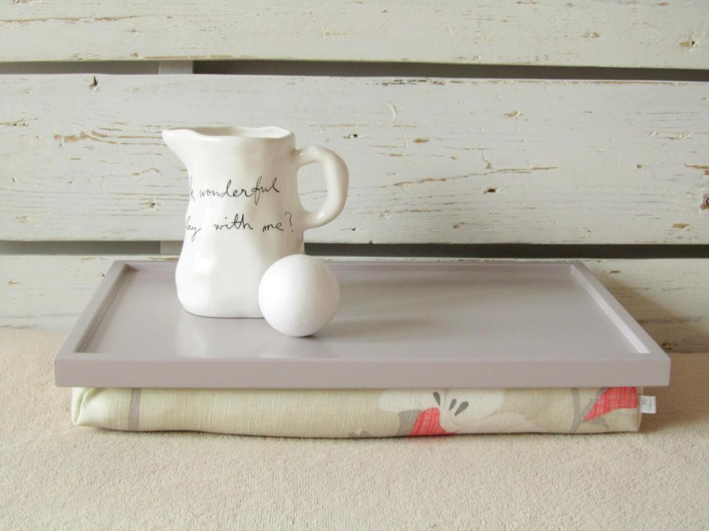 Laptop Lap Desk or Breakfast Serving Tray - XL size- Custom Order