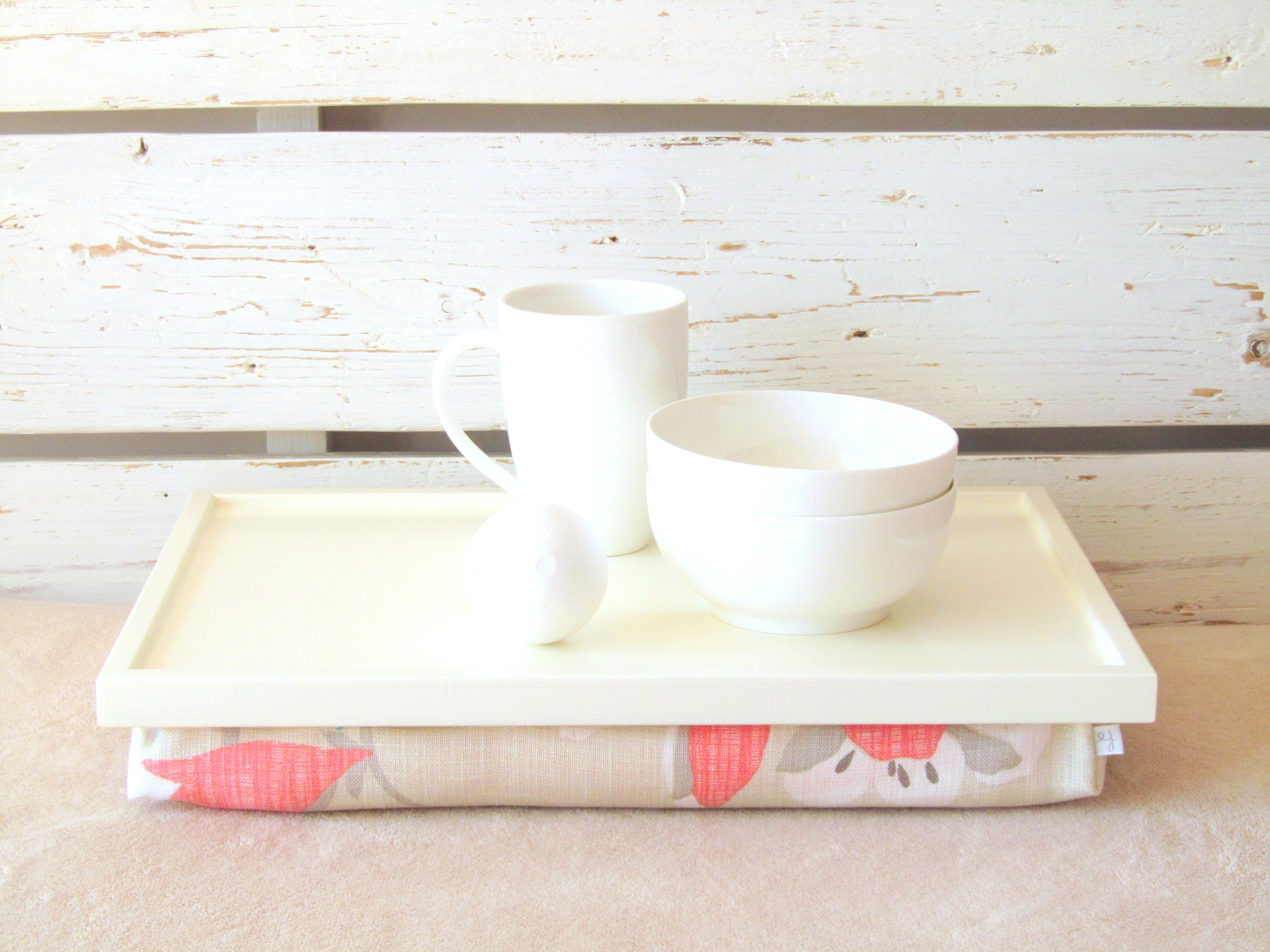 Laptop Lap Desk Breakfast Serving PIllow Tray Table